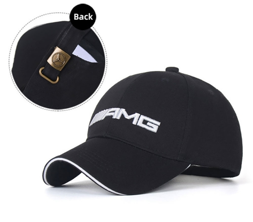 Mercedes Benz Structured Black AMG Hat,Mercedes AMG Petronas Motorsport Fan Hat