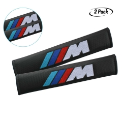 BMW M Shoulder Pad,Carbon Fiber Seat Belt Cover Shoulder Pad For BMW M