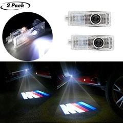Led Car Door Lights with Car Logo Projector Lights M Performance, 2 Pcs Wireless Car Door Led Welcome Laser Projector by Car-tools