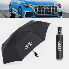 Auto Sport AUTO Open Large Folding Umbrella Windproof Sunshade Car Logo (Audi)