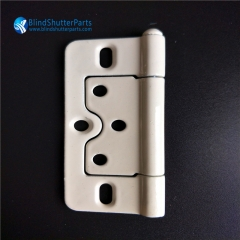 Butterfly window shutter hinge