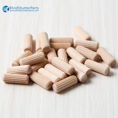 Assorted Wooden Dowels M6 M8 M10 Hard Wood Grooved...