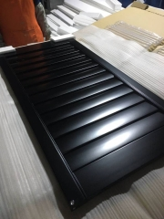 2021 Popular Black wooden white louver plantation ...
