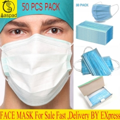 Disposable Mouth Face Masks for sale Anti-Virus Sanitary Masks