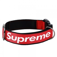 S'preme Dog Collar & Leash Set