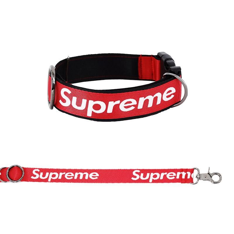 S'preme Dog Collar & Leash Set