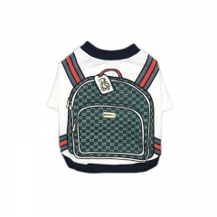 Pucci Dog Backpack Tee