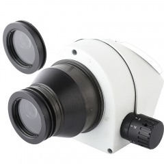 KOPPACE 1X Stereo Microscope Auxiliary lens 48mm Interface Stereo Microscope Objective Protective Lens Dust-proof lens