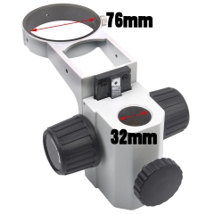 KOPPACE KP-A3-1,Stereo Microscope Focusing bracket,Diameter 76mm Frame,Microscope Focusing rack,Column Aperture 32mm