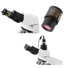 KOPPCE 2million pixel,USB 2.0,Microscope camera,Ring adapters 30mm/30.5mm,Microscope electronic eyepiece