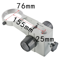 KOPPACE KP-A1-25,Column Diameter 25mm,Stereo Microscope Focusing bracket,lens Diameter 76mm,Microscope Focusing rack
