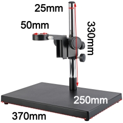 KOPPACE large platform microscope stand,column diameter 25mm,lens mounting size 50mm,including focus bracket