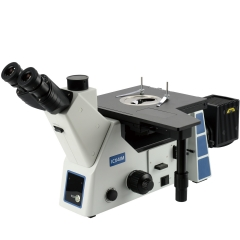 KOPPACE 50X-500X Trinocular Inverted Metallographic Microscope The observation of bright field dark field polarized light and differential interference is realized