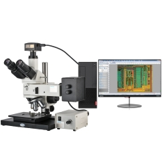 KOPPACE 18 Million Pixels,50X-400X,trinocular metallographic microscope,Industrial microscope for observing metallographic structure and surface morphology