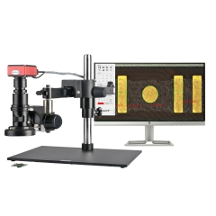 KOPPACE 20X-200X,HD Measuring Electron Microscope,High-speed 60-Frames,Can Take Pictures and Video to Save Forms,Universal Cross arm Bracket