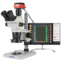KOPPACE 3.35X-90X,4K HD Measurement Microscope,Can Take Pictures and Videos,Export Measurement Data table,Measurement Automatically Find edge Function Microscope