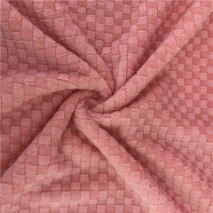 Jacquard Printing Flannel Fleece Fabric