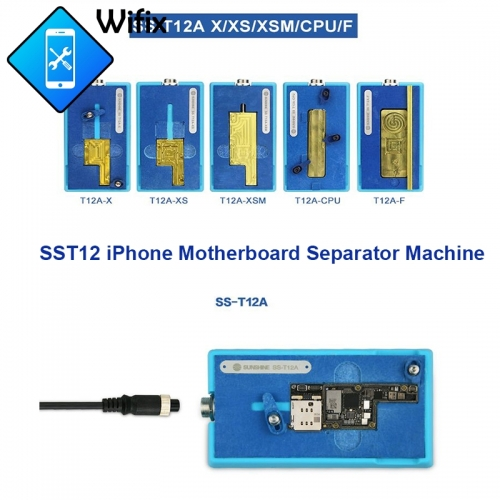 Sunshine SS-T12A Phone Motherboard Separate Tool Desoldering Station for iPhone X Xs Xsmax