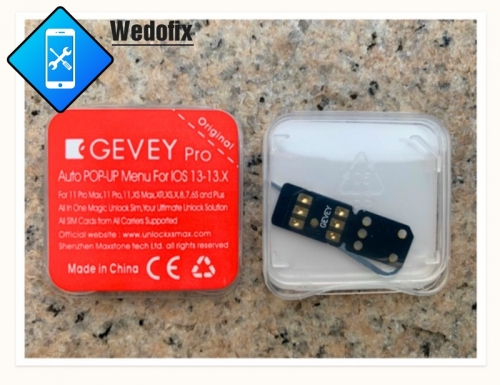 Gevey Pro 13.5.1 iPhone Unlock Chips Rsim Chip for iPhone 6s 6sp 7 8 X Xr Xs Xsmax 11 11pro/max