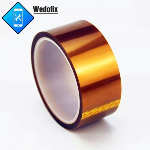 30 Yard Kapton Tape Polyimide High Temp Resistant Tape Multi-sized Bundle with Silicone Adhesive for Microsoldering Repair