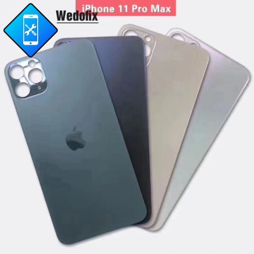 OEM iPhone 11 pro Max Back Glass with Bigger Camera Hole
