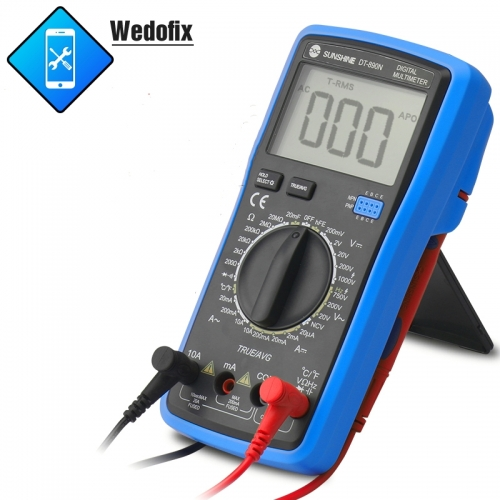Sunshine DT890N Digital Display Multi-meter Double Protection Multi-function Tester