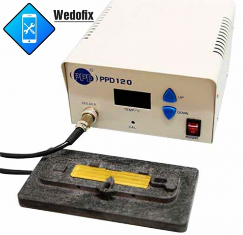 110V PPD120 Phone Logic Board Preheating Station for iPhone 5 6 7 7P Motheboard Repair