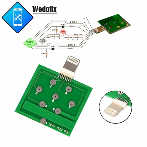 Micro Dock Flex Test Board U2 IC Battery Tester for iPhone Android Diagnostic