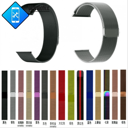 Milanese Loop Bracelet Stainless Steel Band Apple Watch Straps iWatch 38/40mm 42/44mm Strap