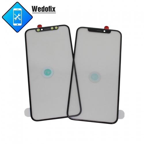 2 in 1 iPhone Front Glass with 250um OCA for iPhone X Xs Xsmax