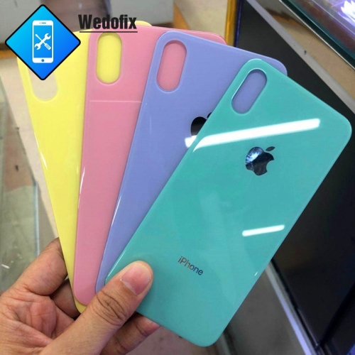 Custom iPhone Back Glass with Bigger Hole for iPhone X Xs Xsmax