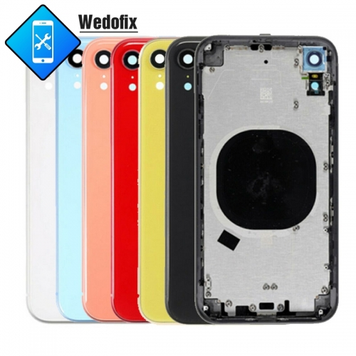 OEM iPhone Xr Back Housing Back Cover with Frame