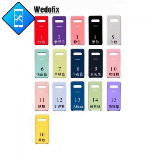 For Samsung  S Series Silicone Case Samsung Phone Protector Case Phone Cases