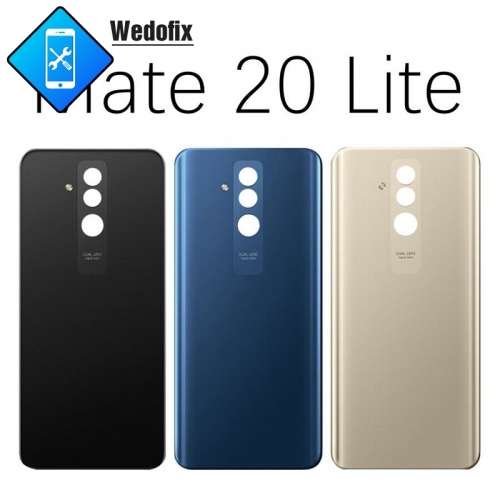 Huawei Mate 20 Lite Back Cover Glass Battery Cover Glass