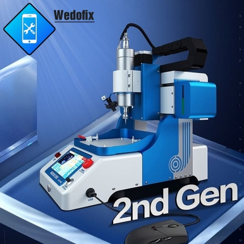 JC CNC Machine JC 2nd Gen EM02 CNC Grinding Machine for iPhone CPU NAND WiFi Touch IC PMU Polish