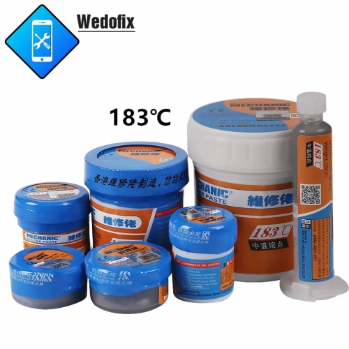 Mechanic 183℃ Leaded Solder Paste Strong Conductive Solder Flux