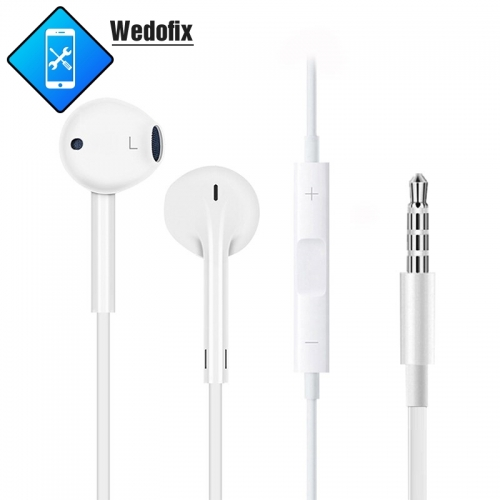 Original Earpods 3.5mm Headphone Plug with Original Package Apple Logo