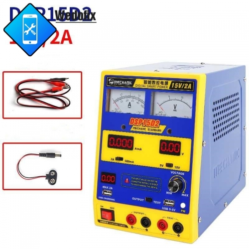 Mechanic DC Power Supply with Digital Display Multi Function Digital Smart Power for Phone Laptop Repair