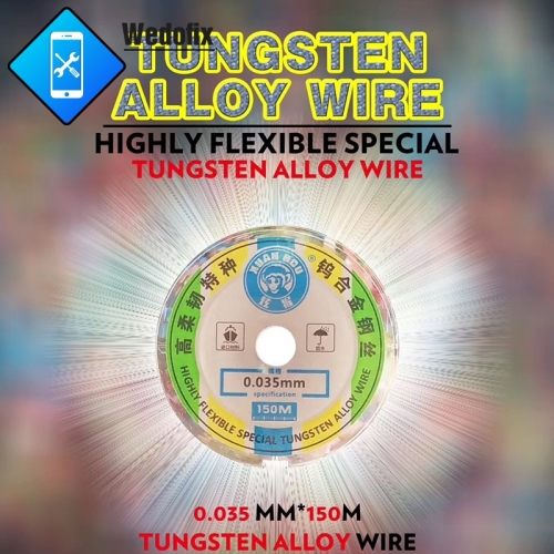 High Hardness 100M LCD Screen Separation Cutting Wire Diamond Wire for Screen Separate