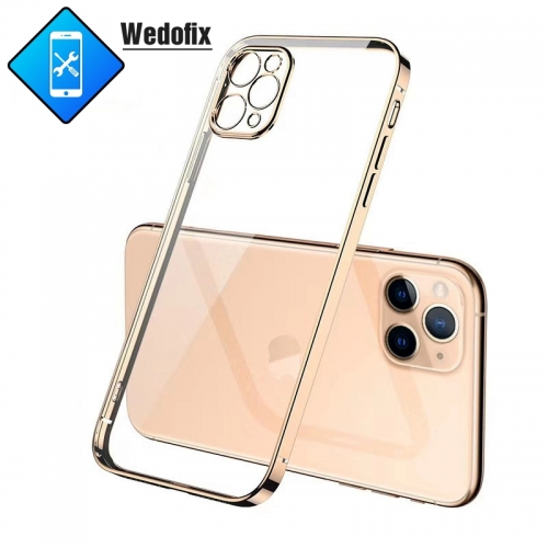 iPhone Soft Tpu Case Luxury Cases Cover Square Frame for iPhone 11 11pro/max 12 12pro/max Mini