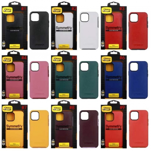 OEM iPhone 12 Otterbox Symmetry with Logo Anti-drop Phone Protective Case for iPhone 12 Mini 12pro/max
