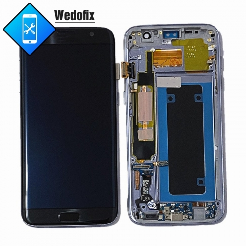 Samsung S7 Edge OLED Digitial Screen SM-G935F LCD Screen with Frame