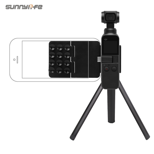 Sunnylife Suction Cup Bracket Smartphone Holder Tripod Extension Rod Stick for DJI OSMO POCKET