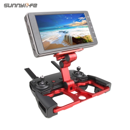 Sunnylife Remote Controller Smartphone Tablet Clip Holder for DJI MAVIC MINI/ PRO/ MAVIC AIR/ SPARK CrystalSky Monitor