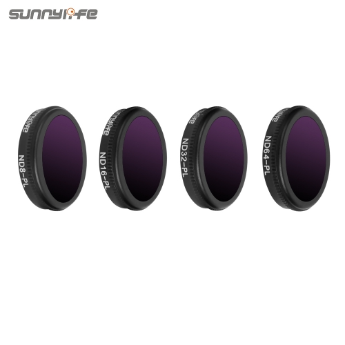 Sunnylife 4pcs/set ND8-PL ND16-PL ND32-PL ND64-PL Lens Filter for DJI MAVIC 2 ZOOM