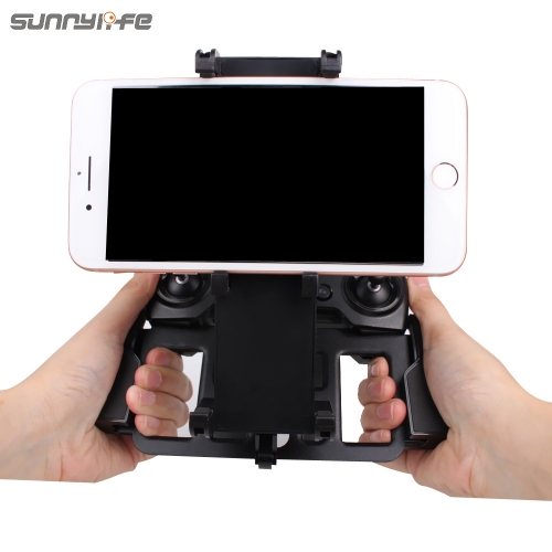 Sunnylife Remote Controller Smartphone Tablet Holder Bracket Support for DJI MAVIC AIR & MAVIC 2 PRO & SPARK