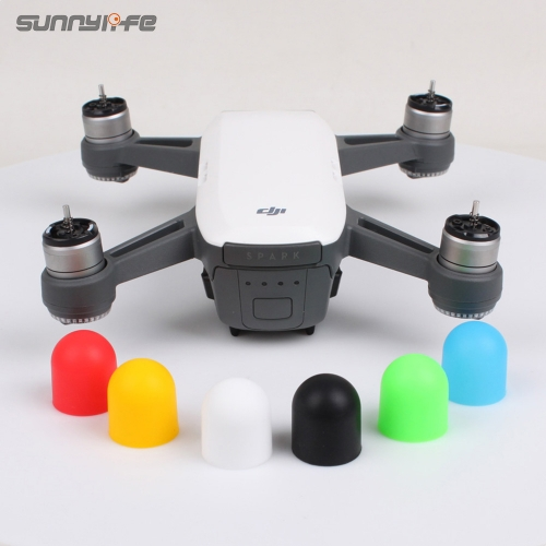 Sunnylife Silicone Motor CoverProtector Motor Guard Protective Cap for DJI SPARK/ MAVIC AIR