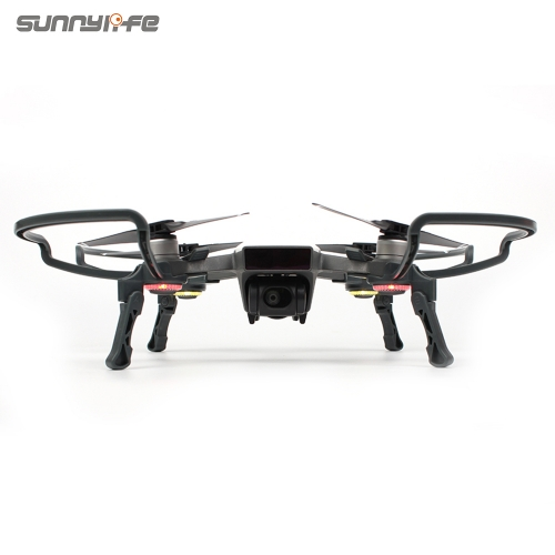 Sunnylife Propeller Guards with Foldable Landing Gears Landing Stabilizers for DJI SPARK