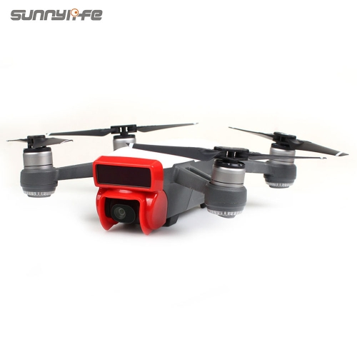 Sunnylife Camera Lens Sunhood Sunshade Anti-glare Gimbal Protector for DJI SPARK