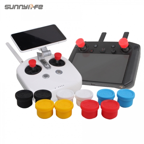 Sunnylife Remote Controller Joysticks Silicone Thumb Rocker for SPARK/MAVIC PRO V2.0/ Phantom 3 4/ Inspire/ Q500 H480
